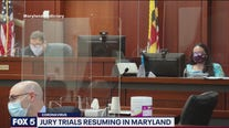 Jury trials resuming in Maryland