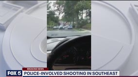 DC police confirm officer shot person in Southeast