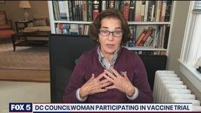 DC councilwoman among COVID-19 vaccine trial participants