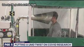 UMD researchers using machine to study how people spread COVID-19