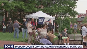 Loudoun County considering ban on firearms in some areas