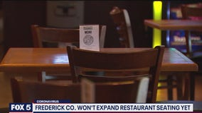 Frederick County executive holds back on increasing capacity in restaurants after surge in COVID-19 cases