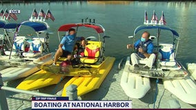 Zip Trip Finale: National Harbor on the water