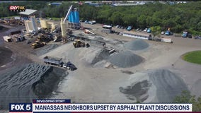 Manassas neighbors upset by asphalt plant discussions