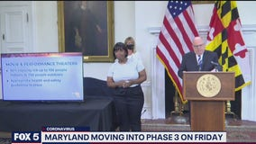Maryland entering stage three reopening on Friday
