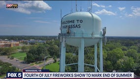 Manassas fireworks show to mark end of summer