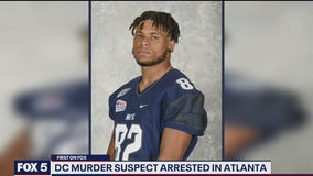 Georgetown University football player pending extradition from Georgia for role in DC murder, police say