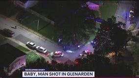 Toddler, man shot in Glenarden
