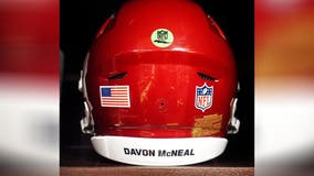 Family honored Washington Football Team's Dwayne Haskins chose to recognize Davon McNeal