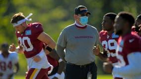 Washington Football Team coach Rivera makes debut against old friend