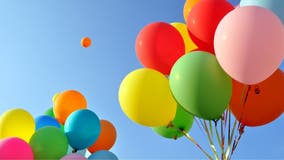 Release of non-biodegradable balloons in Virginia could result in fine of $25 per balloon
