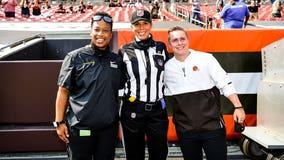 NFL history made at Washington-Cleveland game