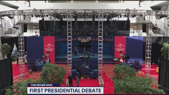 What to expect heading into first Trump, Biden debate