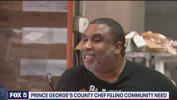 Prince George's County chef temporarily shutting down restaurant to help feed community in need