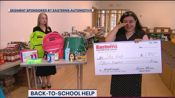 PAY IT FORWARD: Back to school help