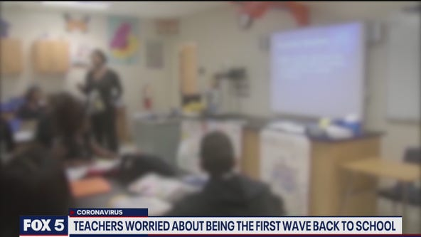 Some teachers worried about being first wave back to school