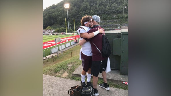 'You couldn't help but cry': Hospice nurse helps fulfill patient's wish to watch son's football game