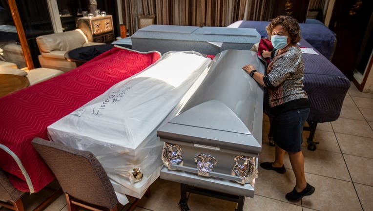 East LA funeral home adjusts to demands of Covid-19