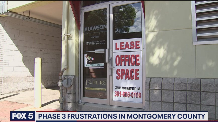 Frustrations high among business owners, parents in Montgomery County