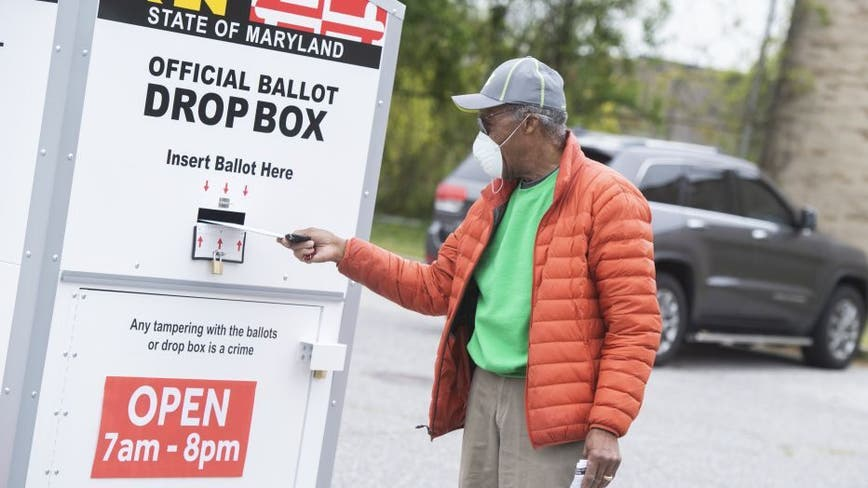 Maryland elections board releases list of ballot drop box locations