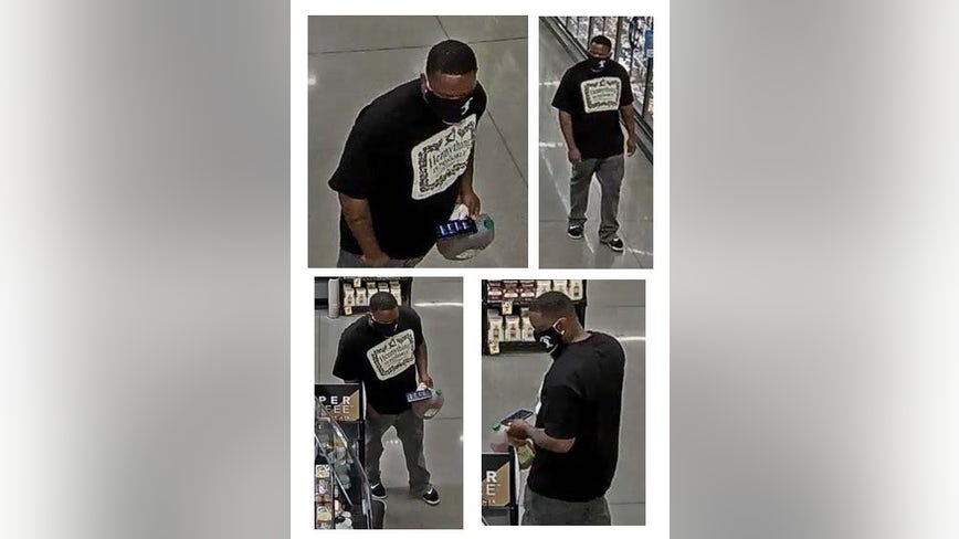 Police searching for man accused of spraying unknown substance on women in Baltimore County grocery stores