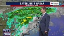 Heavy rain Thursday as remnants of Hurricane Zeta hit DC region