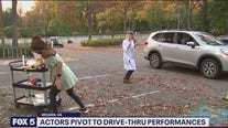 Actors pivot to drive-thru performances