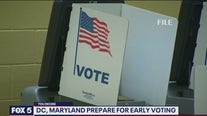 DC, Maryland prepare for early voting