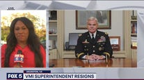 VMI superintendent resigns