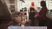 Paella cooking lessons at Slate Wine Bar