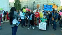 More than a dozen charged in DC demonstrations around Supreme Court hearings