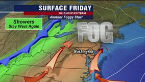 FOX 5 Weather afternoon forecast for Friday, October 23