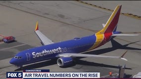 Air travel numbers on the rise as coronavirus pandemic continues