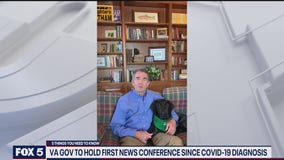 Virginia Gov to hold first coronavirus news conference since positive diagnosis