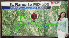 Rain causes delays during early morning commute Monday
