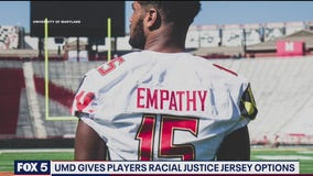 Maryland football team to wear jerseys in support of fight for racial justice in Saturday game