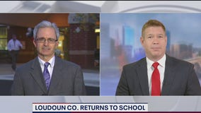 Loudoun County back to school for limited in-person learning