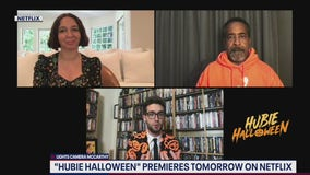 Kevin chats with Maya Rudolph, Tim Meadows for Hubie Halloween