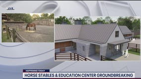 Park Police breaking ground on new horse stables and education center on National Mall