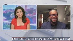 Alfred Street Baptist Church makes over $1M in donations to nonprofits