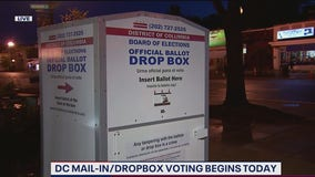 DC mail-in-ballot drop box locations now available across District