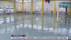 DC reopens some indoors pools, fitness centers for registered visitors