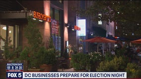 Some DC businesses prepare for potential Election Day unrest