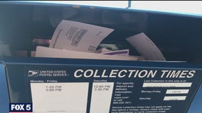 Cellphone videos show overflowing mailboxes in parts of DC and Montgomery County