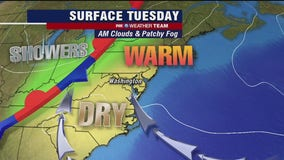 FOX 5 Weather forecast for Tuesday, October 20