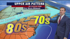 FOX 5 Weather afternoon forecast for Tuesday, October 20