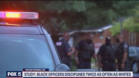 Study: Black officers more likely to be disciplined than white counterparts