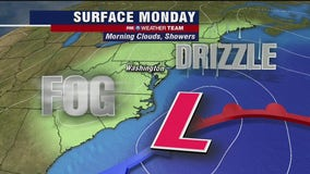 FOX 5 Weather afternoon forecast for Monday, October 26