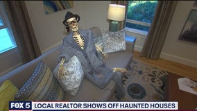 Local real estate broker shows off 'haunted' houses in Montgomery County
