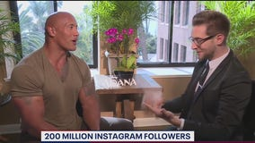 FOX 5's Kevin McCarthy revisits some of his favorite moments from The Rock interviews